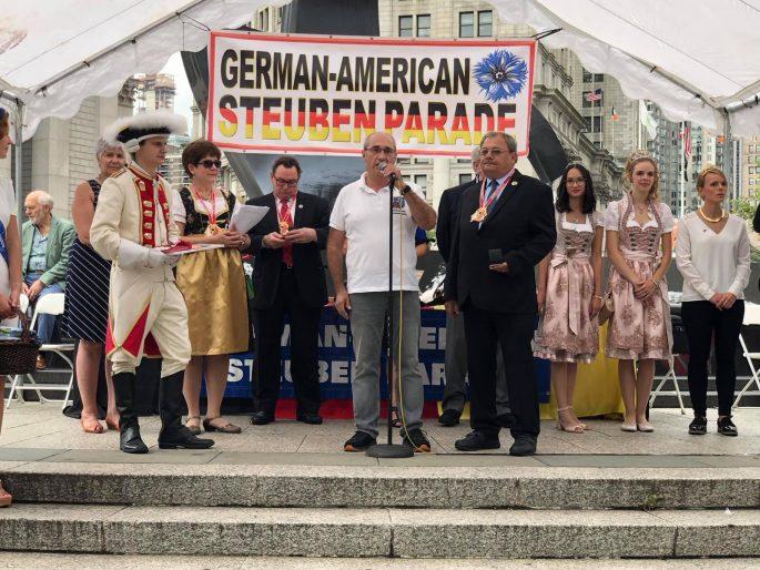 Steubenparade NY USA